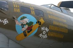 "B-17G Flying Fortress ""Nine O Nine""."