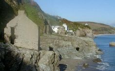 Hallsands as it stands tooday. Village was destroyed after beach dredging and a bad storm in 1917