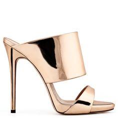 Andrea - Sandals - Gold Pink | Giuseppe Zanotti | Giuseppe Zanotti Design Online Store
