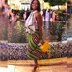 Check out these latest african fashion trends we have lined up for you today. They look classic and absolutely gorgeous. Be inspired!THE BEST ANKARA STYLES African American Fashion, African Print Fashion, Africa Fashion, African Fashion Dresses, Fashion Prints, Fashion Outfits, African Outfits, Fashion Styles, Fashion Ideas