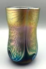 iridescent signed in Handcrafted Art Glass | eBay Iridescent, Glass Art, Vase, Ebay, Home Decor, Decoration Home, Room Decor, Vases, Home Interior Design