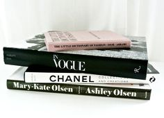 LOVE these fashion coffee table books.