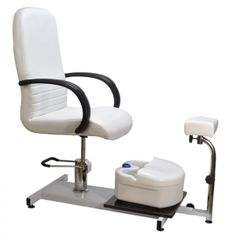 Salon Quality Hydraulic Pedicure Station Chair