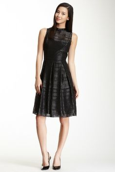 Cynthia Steffe Sadie Sleeveless Pleated Detail Dress by Non Specific on @HauteLook