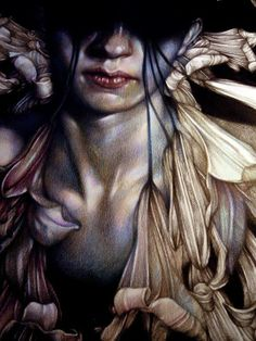 Wonderful colour pencil art by Marco Mazzoni | Martineken Blog