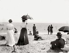 1920. Rio de Janeiro beach