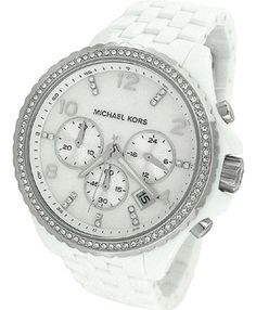 Michael Kors White Watch- Just reduced! ** - $128.00