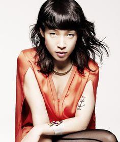 Yukimi Nagano. Swedish-Japanese. Mind-blowing vocalist. aka Little Dragon