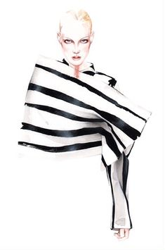 Illustration.Files: Acne Studio Fall 2014 Fashion Illustration by António Soares
