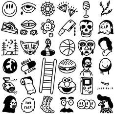 Trippy Drawings, Graffiti Drawing, Cool Stencils, Tattoo Stencils, Leg Tattoos, Black Tattoos, Tatoos, Traditional Style Tattoo, Stick N Poke