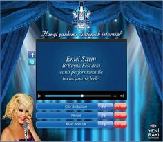 Yeni Rakı Bi' Büyük Fest Song Request Live by Caner Erdogan, via Behance