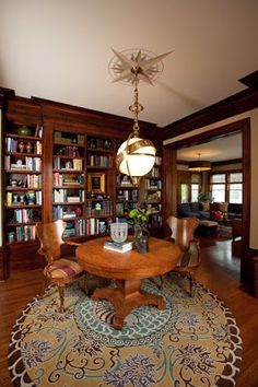 Fabulous Home Library Design With Yellow Sofa And Fireplace Largest Home Design Picture Inspirations Pitcheantrous