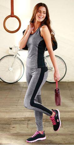 Sportoutfit mit hohem Tragekomfort und Bewegungsfreiheit.