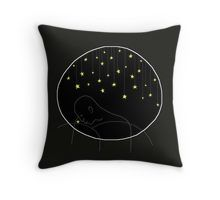 Throw Pillow. Yellow star and the mountain.