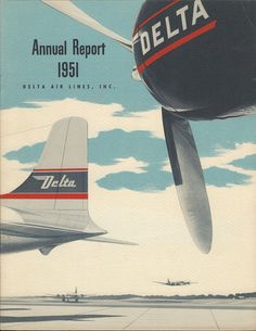 Delta Air Lines Annual Report 1951