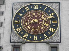 Astro Clock Mellingen, Switzerland