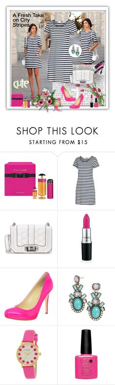 """""""A Fresh Take on Sity Stripes"""" by allysha-fa ❤ liked on Polyvore featuring Prada, Fat Face, Rebecca Minkoff, Ivanka Trump, BaubleBar, Kate Spade and Benefit"""