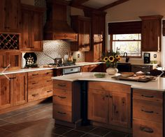 Kitchen cabinets rustic wood fancy dark rustic cabinets with top best rustic hickory cabinets ideas on Kitchen Cabinets Home Depot, Shaker Style Kitchen Cabinets, Shaker Style Kitchens, Kitchen Cabinet Remodel, Kitchen Cabinet Styles, Kitchen Decor, Kitchen Rustic, Kitchen Remodeling, Shaker Kitchen