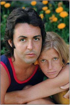 Paul and Linda, married 29 years until her death.