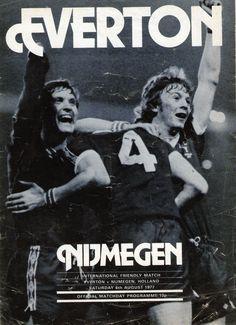 Everton v. Nijmegen, 1977-78 friendly match
