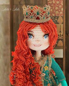 Hürrem Sultan muñeca amigurumi