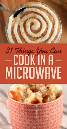 Sick of fast food fare? Cook something up in the microwave with these recipes from Buzzfeed.