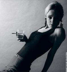Andy Warhol was often blamed for Edie Sedgwick's descent into drug addiction and mental illness. However, before meeting Warhol, Edie had b. Jerry Schatzberg, Edie Sedgwick, Anthony Kiedis, Twiggy, Andy Warhol, Freddie Mercury, Marla Singer, Poor Little Rich Girl, Lauryn Hill