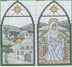 Schema punto croce Religione
