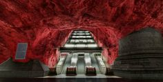 BEAUTIFULLY BIZARRE PLACES AROUND THE WORLD Part - VI Subway in Stockholm, Sweden