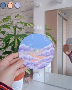 cd art diy * cd art - cd art projects - cd art diy - cd art aesthetic - cd art for kids - cd art painting - cd artwork cd art - cd art projects old cds Mirror Painting, Painting Wallpaper, Painting Art, Painting Flowers, Painting Tools, Drawing Flowers, Girl Wallpaper, Watercolor Flowers, Cute Canvas Paintings
