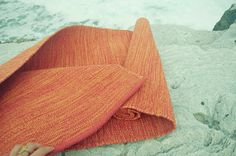 The Yoga mat I use: Yogasana Fire mat.