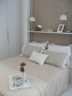Quarto Casal empreendimento Nova Alameda Residencial #RJ / Nova Alameda Residencial Master Bedroom