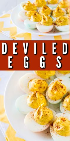 Baking Recipes, Snack Recipes, Snacks, Coleslaw Recipes, Deviled Eggs Recipe, Classic Recipe, Future Mom, Baked Eggs, Yummy Appetizers
