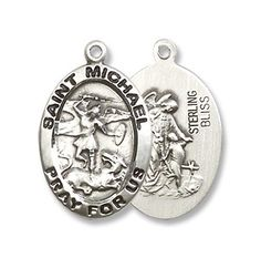 Made in America! Small Oval Sterling Silver St. Michael t... https://www.amazon.com/dp/B003AKJKR6/ref=cm_sw_r_pi_dp_x_HD4kyb0VJXRB4