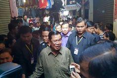 Kampong Chhnang vendors latest to win from PM visit - The Phnom Penh Post