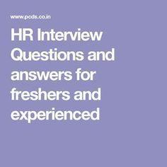 17 Best HR interview images | Hr interview, Interview