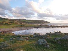 Machrihanish is on the southwest coast of the Kintyre peninsula