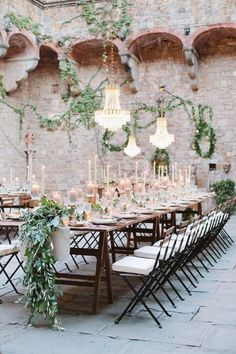 Who wouldn't want a dreamy wedding in Tuscany!? Bellisimo!