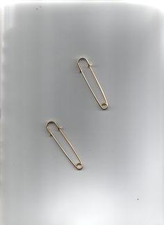 """2 x 3"""" goldtone KILT PINS Kilt Pin, Head Pins, Jewelry Making, Sewing Needles, Metal, Gold, Jewellery, Jewels, Jewelry Shop"""