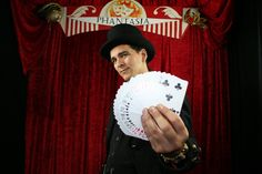 Magician The Magicians, Playing Cards, Game Cards