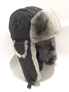 1b28dc3dce6 Fur Trapper Hat - Faux Fur Hat - Vintage Trapper Hats Fur - Mens Hat -  Womens Hat - Nordic Winter Ha