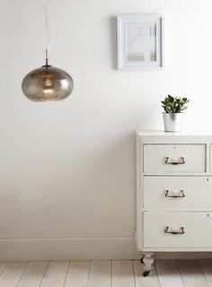 The Aisha pendant is crafted from a unique looking crackle glass and antiqued on the inside to give the appearance that it is mink in colour. Cluster Lights, British Home, Flat Ideas, Crackle Glass, Dresser As Nightstand, Home Lighting, House Colors, Home Accessories, Interior Decorating