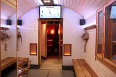 Sammalsauna has 2 TV. You can sing Karaoke or watch the Ice hockey tournament even in the sauna room!