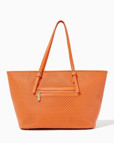 Charming Charlie heard my Prada-dupe prayers!!!  | Saffiano Perforated Tote | UPC: 410007111249
