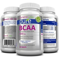 BCAA Amino Acids - Aids in Weight Loss, Building Lean Muscle Mass, and Muscle Recovery, Contains L-Leucine, L-Isoleucine, and L-Valine, 1000mg, 120 Tablets. Works Excellant with Pure White Kidney Bean Extract. Manufactured in a USA Based GMP Organic Certified Facility and Third Party Tested for Purity. Guaranteed!! Builds Lean Muscle Mass and aids in Muscle Recovery. BCAA Amino Acids were recently featured on Dr Oz as a great weight management aid especially when coupled with White...