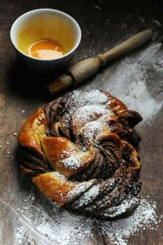 Puff Pastry with Nutella