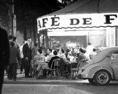 Cafe de Flores Paris 1955