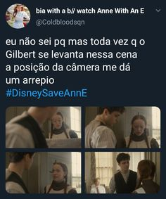 Anne with an E shirbert Gilbert Blythe, Anne White, Amybeth Mcnulty, Anne With An E, Anne Shirley, E 3, Netflix Series, Big Words, Still Life Film