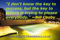 The Key To Success Is Not About Pleasing Everyone