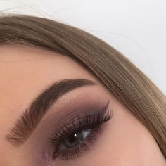 #abh #brows #eyebrows #smokyeye #purplemakeup #makeup #makeupbyme #modernrenaissance #anastasiabrows #eyeliner #glam